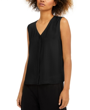 Eileen Fisher Tops SILK SLEEVELESS TOP