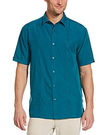Men's Geo-Panel Embroidered Shirt