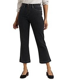 Bridgette Cropped Bootcut Jeans