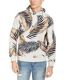 Men's Leaf Print Hoodie, Created for Macy's