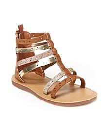 B'Gosh Toddler Girls Mila Gladiator Sandal