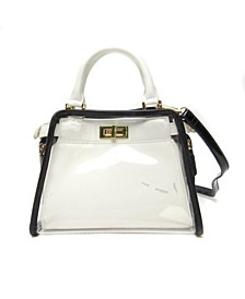 Clear Retro Colorway Handbag