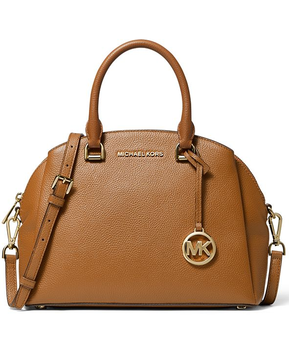 Michael Kors Maxine Medium Dome Satchel
