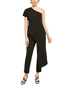 One-Shoulder Asymmetrical Jumpsuit