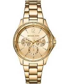 Women's Riley Gold-Tone Stainless Steel Bracelet Watch 39mm