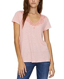 Virginie Lace T-Shirt