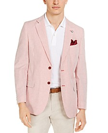 Men's Modern-Fit Stretch Stripe Seersucker Sport Coat