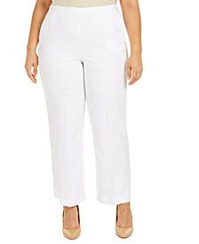 Alfred Dunner Plus Size Ship Shape Pants