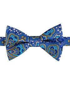 Men's Botanical Paisley Bow Tie