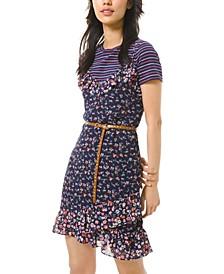 Garden Patch Printed Slip Dress