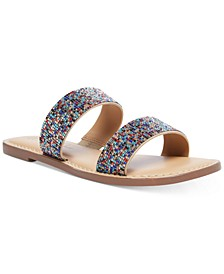 Ginnie Double-Band Flat Sandals, Created for Macy's