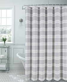 "Madison Striped 70"" x 72"" Shower Curtain"