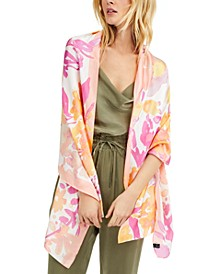 INC Garden Flora Printed Wrap, Created for Macy's