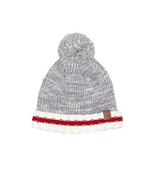 Baby Boys and Girls Pom Pom Hat