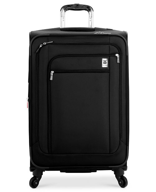 "Delsey CLOSEOUT! 60% Off Helium Sky 25"" Expandable Spinner Suitcase, In Purple, Created for Macy's"