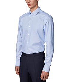 BOSS Men's Jesse Navy Dress Shirt