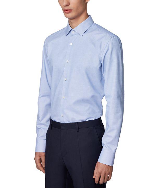 Hugo Boss BOSS Men's Jesse Navy Dress Shirt