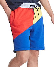 Tommy Hilfiger Men's Ahoy Colorblock Stretch Sweatshorts