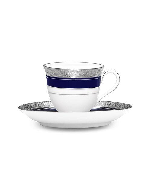 Noritake Crestwood Cobalt Platinum After Dinner Cup & Saucer