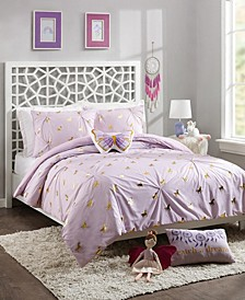 Fiona Unicorn Full/Queen 4-Piece Comforter Set