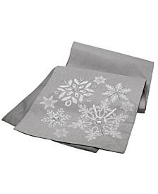 Glistening Snow Christmas Table Runner