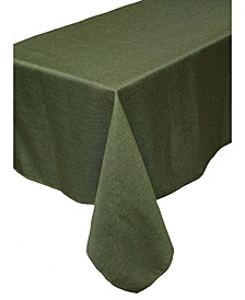 Gala Glistening Easy Care Solid Color Tablecloth
