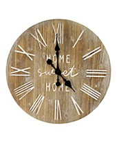 Stratton Home Decor Wall Clock Shop Wall Clock Macy S