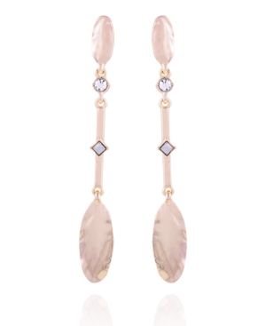 T Tahari Casual Chic Linear Earring