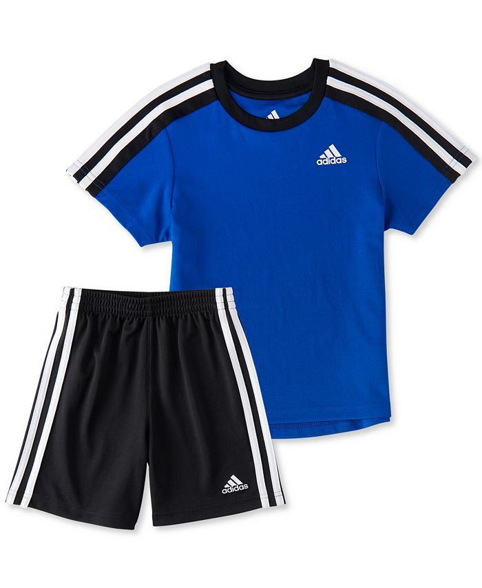 adidas Little Boys 2-Pc. Soccer T-Shirt & Shorts Set & Reviews ...