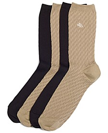 Women's Cable Supersoft Trouser 2 Pack Socks