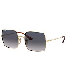 SQUARE Polarized Sunglasses, RB1971 54