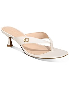 Women's Audree Leather Thong Sandals
