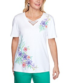 Costa Rica Embroidered Top