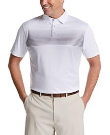 Men's Ombré Fade Golf Polo