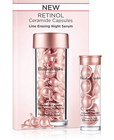 Receive a FREE 7-Day Retinol Ceramide Capsules with any $74 Elizabeth Arden Purchase