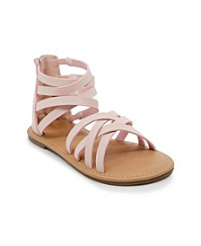 Little & Big Girls Multi Strap Gladiator Sandal