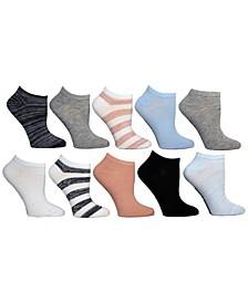 Women's 10-Pk. Low-Cut Socks