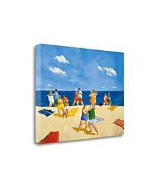 Tango Beach by Michael Paraskevas Giclee Print on Gallery Wrap Canvas