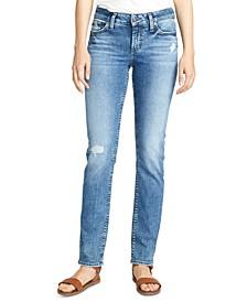 Elyse Straight-Leg Jeans