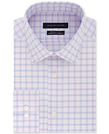 Men's Athletic-Fit Check Dress Shirt