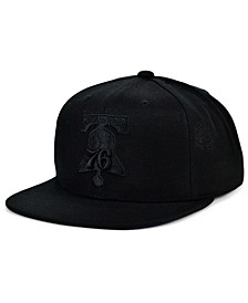 Philadelphia 76ers Under The Black Snapback Cap