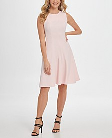 Sleeveless Fit & Flare Dress