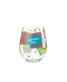 LOLITA Birthday Girl Stemless Wine Glass