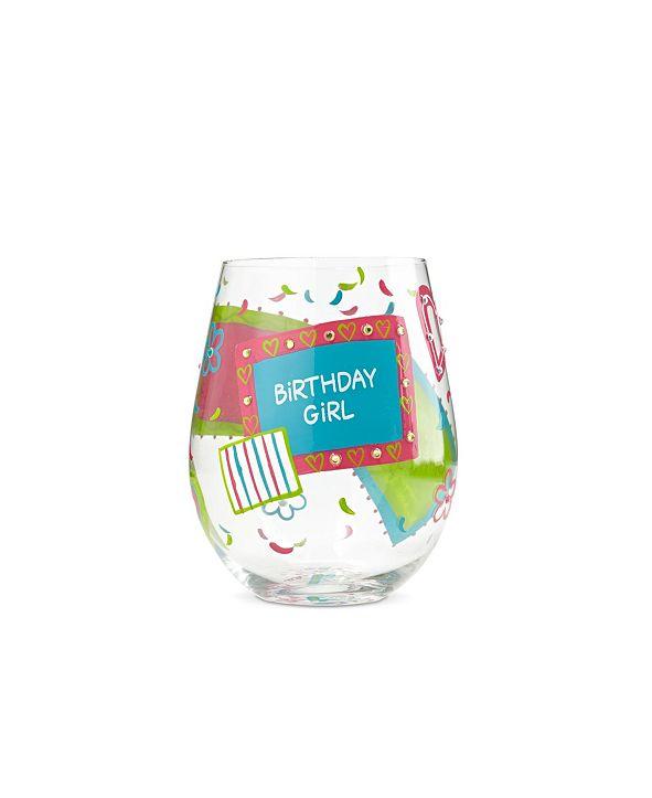 Enesco LOLITA Birthday Girl Stemless Wine Glass