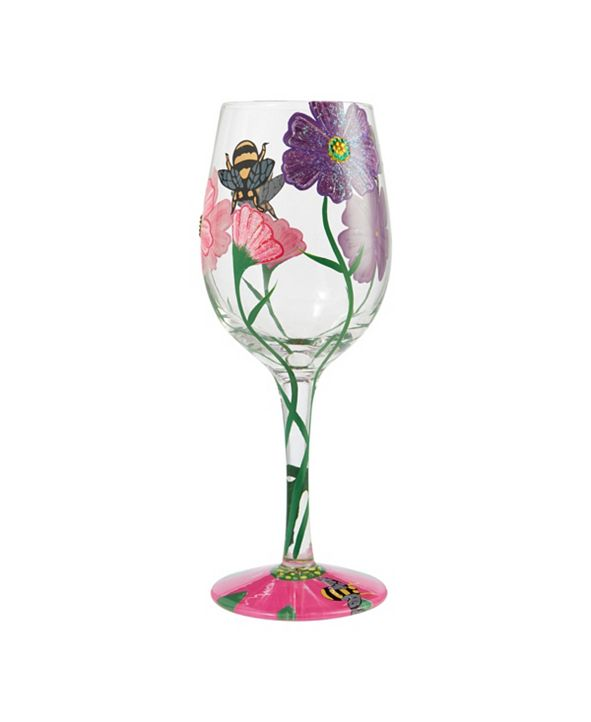 Enesco LOLITA My Drinking Garden Wine Glass
