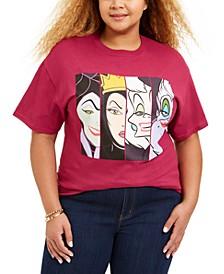 Trendy Plus Size Disney Villains T-Shirt
