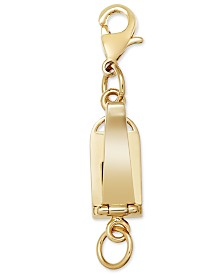 14k Gold over Stainless Steel Magnetic Clasp