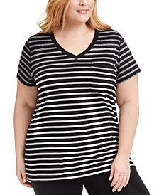 Calvin Klein Performance Plus Size Pocket T-Shirt