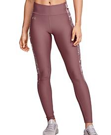 Women's HeatGear® Camo-Inset Compression Leggings