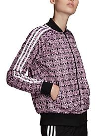 Women's Printed Bomber Jacket
